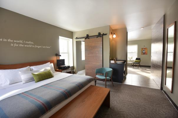 The Oxbow Hotel Room