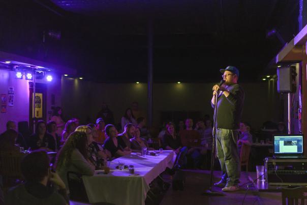 Comedian Justin Schenck