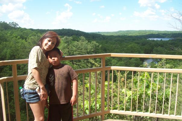Scenic Overlook at Willow River State Park