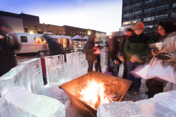 Light Up Eau Claire Firepit