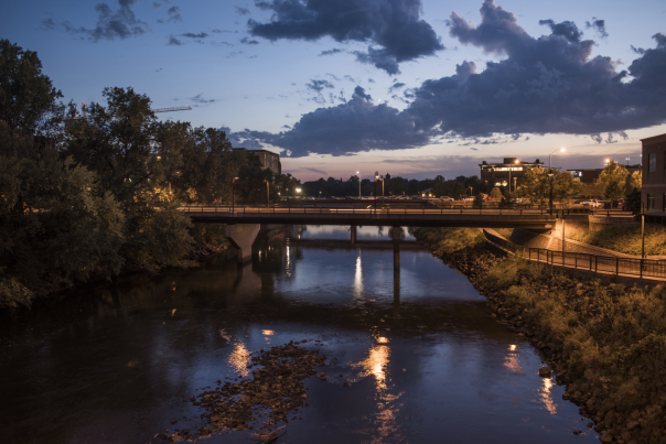 Eau Claire River at Dusk