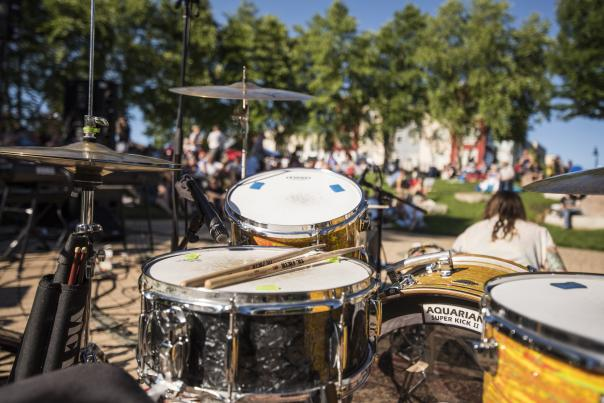 Sounds Like Summer Concert Series in Phoenix Park in downtown Eau Claire