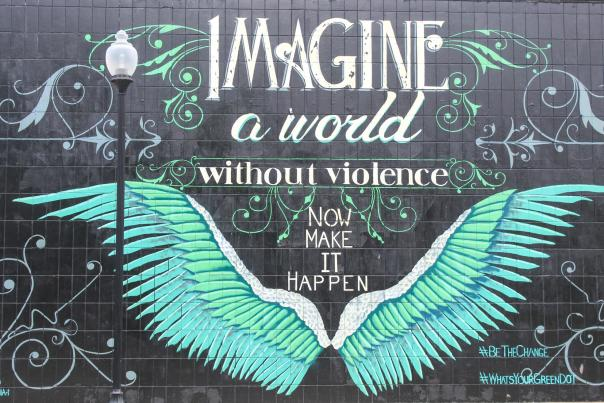 Imagine a world without violence