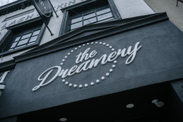 The Dreamery sign