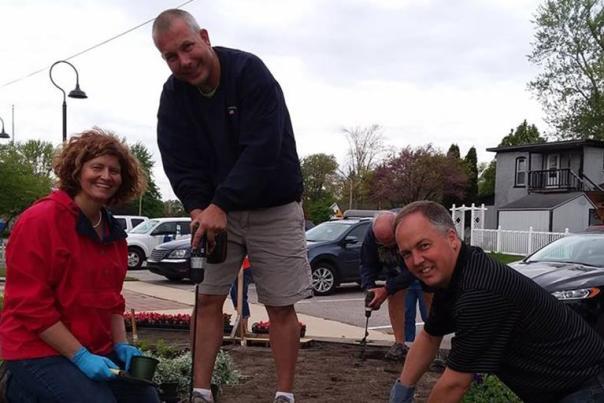 Quilt Garden Workers