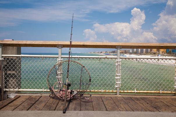 Boardwalk Fishing Pier Net