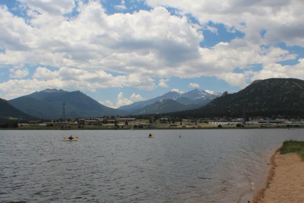 Lake Estes Beach Kayak