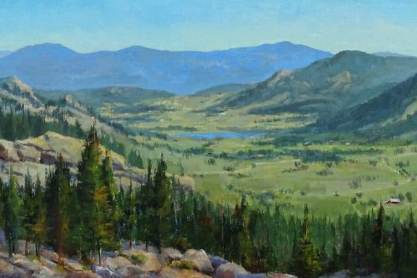 Copy of Cecy Turner Painting - Estes Valley