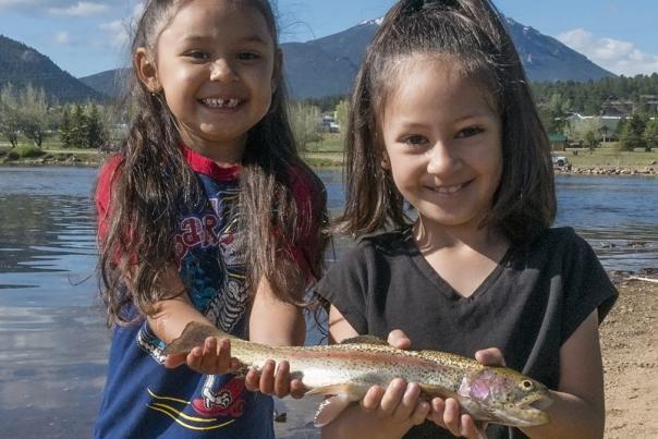 Fishing Derby Girls