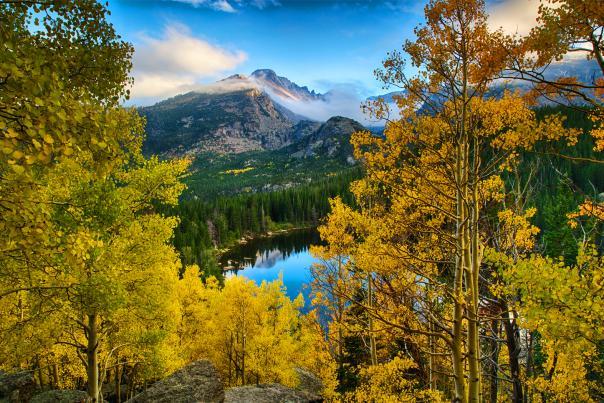 Autumn Bear Lake