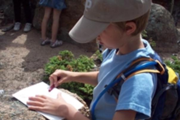 Class at Rocky Mountain Nature Association
