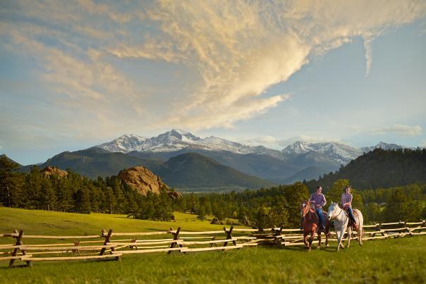 Horseback Longs Peak