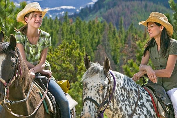 Horseback-Girls
