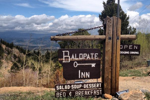 Baldpate Sign