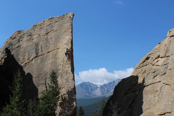 Climbing Claassen