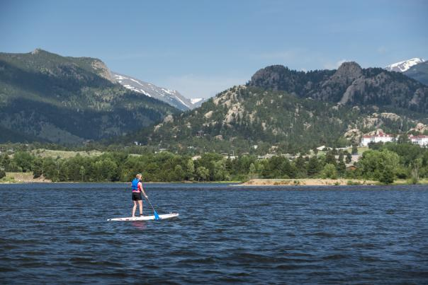 SUP Lake Estes - Credit James Frank