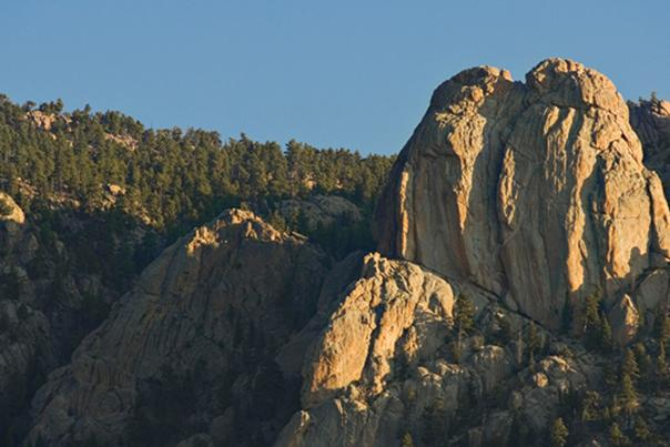 TTD Climbing Twin Owls Rocky