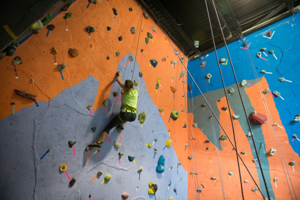Mountain Shop Indoor Rock Climbing