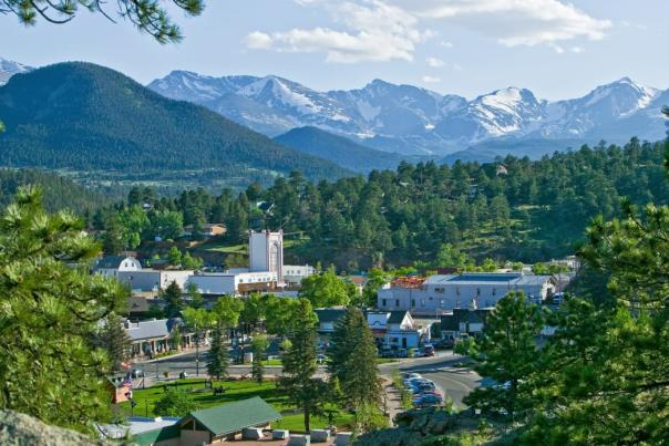 Downtown Estes Park Summer