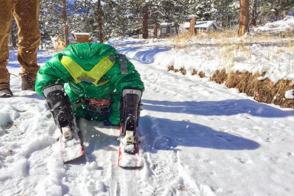 Fitz skiing