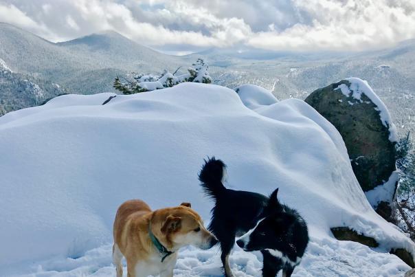 Zuko and Lindsay on Kruger Rock