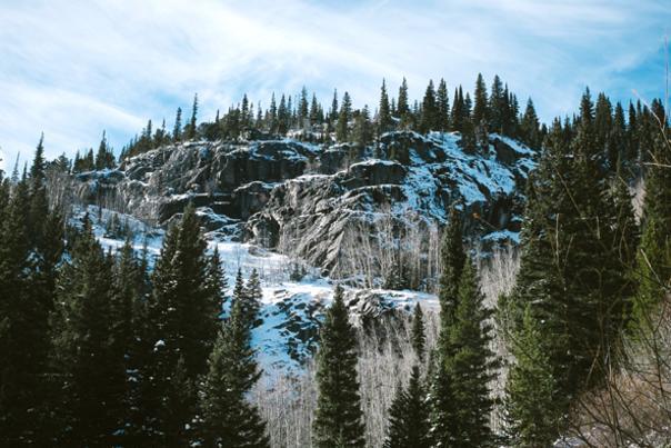 Snowy RMNP