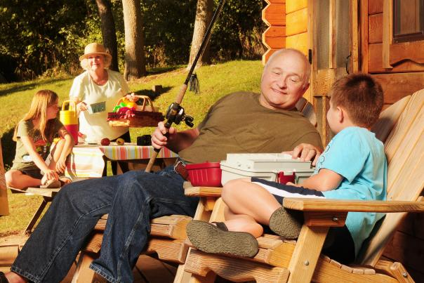 A family vacation at Cheerful Valley Campground