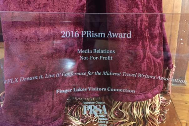 2016 Prism Award for Finger Lakes Visitors Connection
