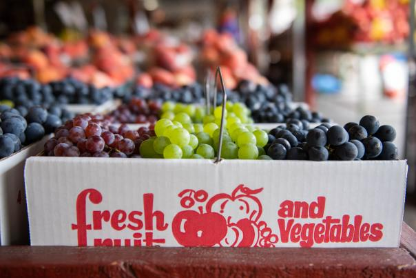 Fresh Grapes at Joseph's Wayside