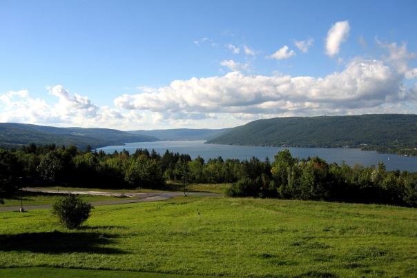 Canandaigua Lake scenic overlook