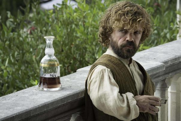 Game of Thrones' Tyrion Lannister drinking wine