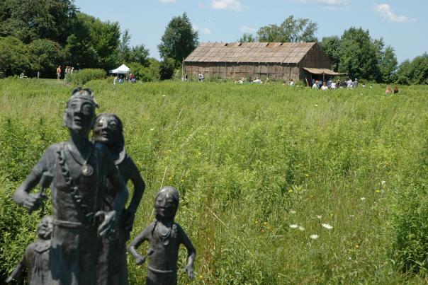 Ganondagan State Historic Site Seneca Bark Longhouse