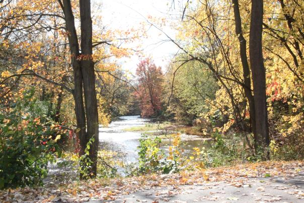 Manchester Gateway Trail in the Fall