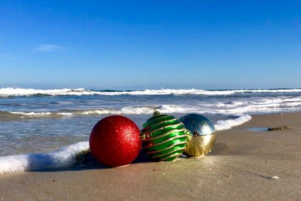 Christmas Beach Holiday