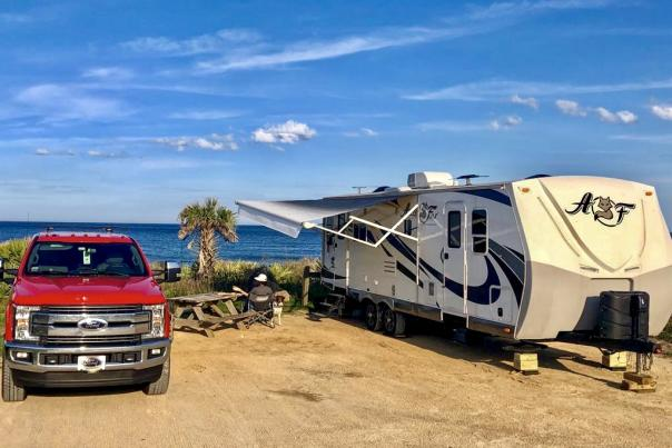 Camping Gamble Rogers
