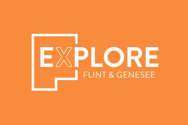 Explore Flint & Genesee Logo Cover