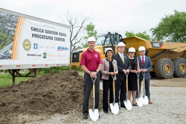 GM Breaks Ground on $65 million ACDelco and Genuine GM Parts Pro