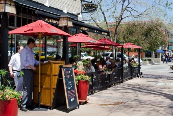 Austins downtown patio