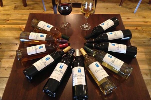 Blue Skies Winery Bottles