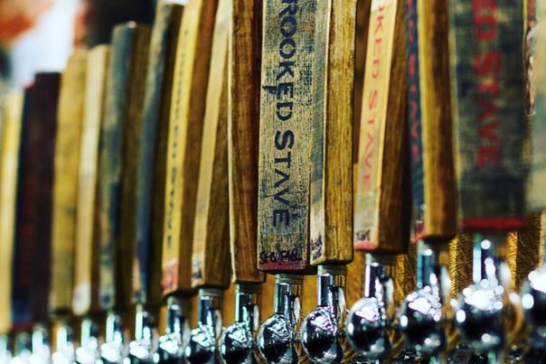 Crooked Stave Wooden Taps