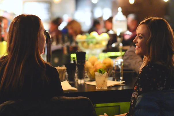 Drinks at Bar Social nightlife