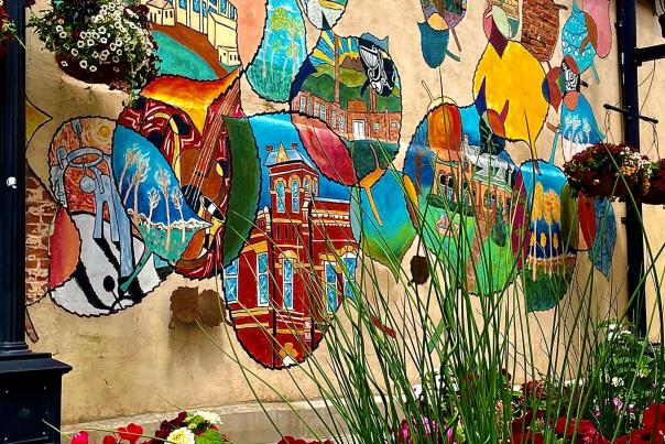Fort Collins Flowers Alley Art
