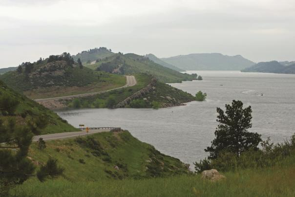 Horsetooth Reservoir Ridge
