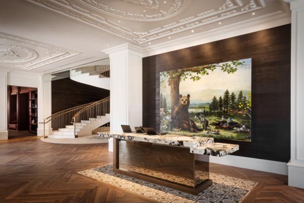 Lobby Elizabeth Hotel