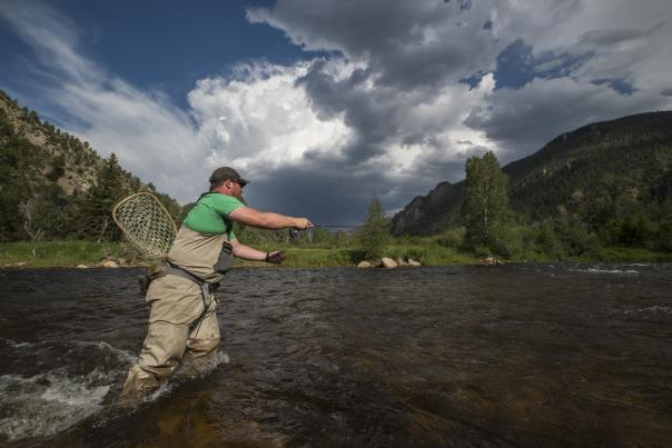 Fly Fishing Poudre River