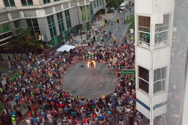 Buskerfest 2016 in Fort Wayne, Indiana