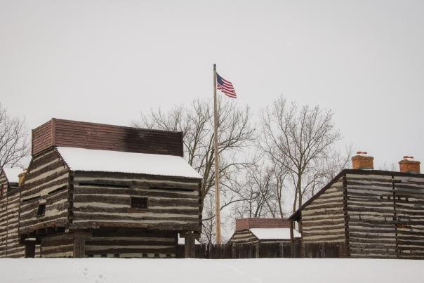 Winter at the Historic Old Fort