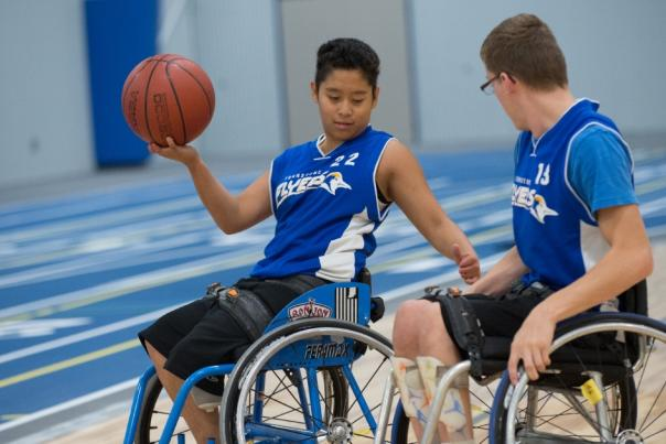 Copy of Turnstone - Wheelchair Basketball