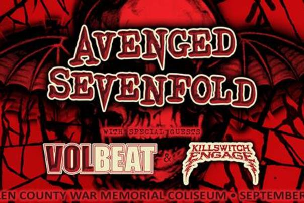 Avenged Sevenfold Promotional Poster