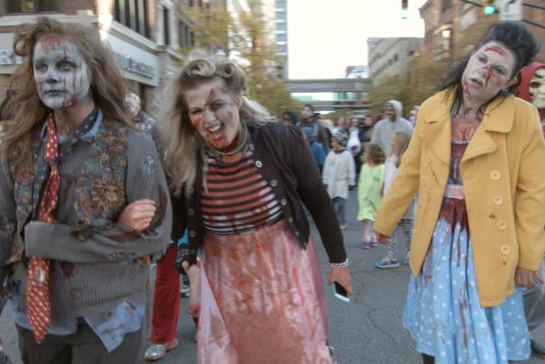 Fright Night in Downtown Fort Wayne